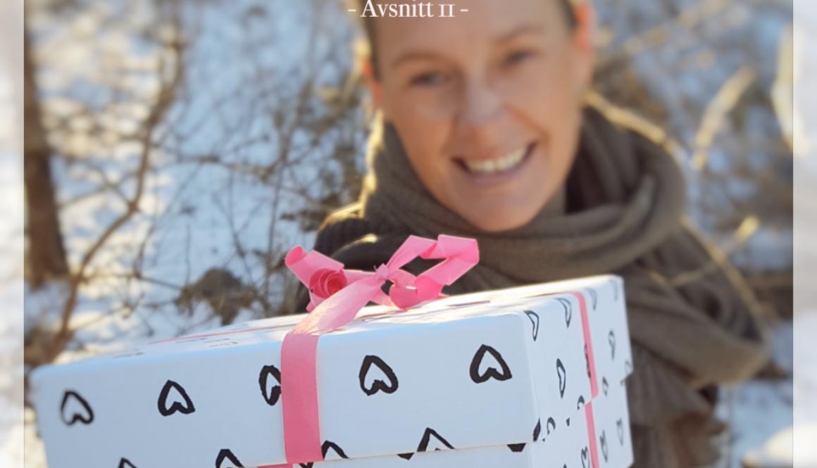 Varsågod, en present!